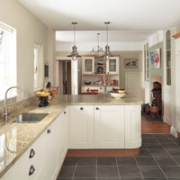 The Kitchen Style Tool has a number of flooring options, each of which is perfectly suited to modern kitchens.