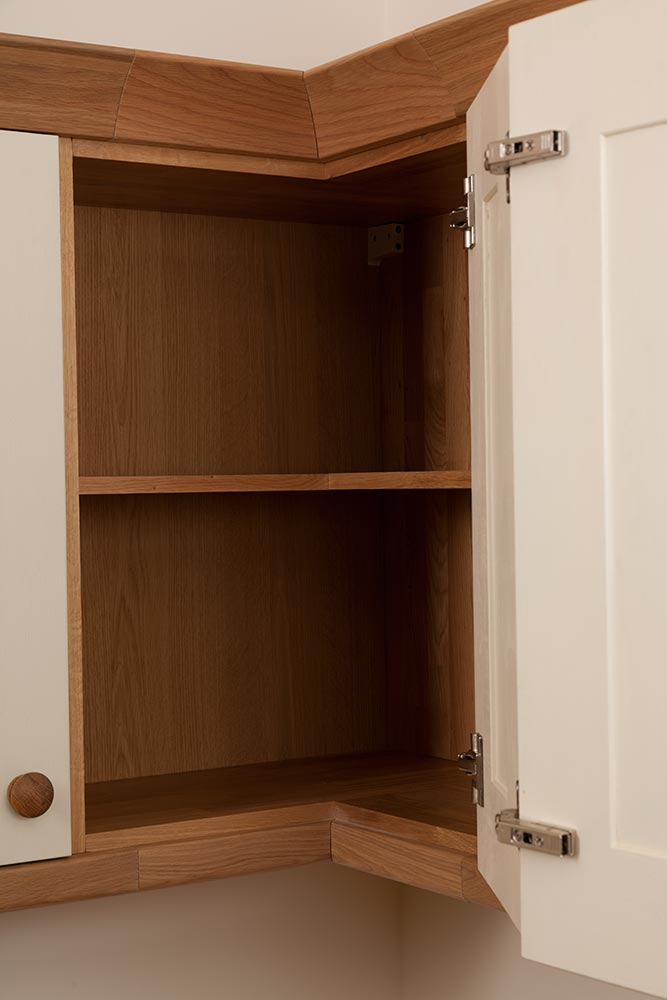 L Shaped Corner Wall Cabinet