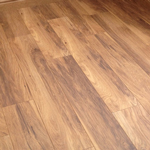 Laminate floors are simple to install and imitate the natural features of hardwood