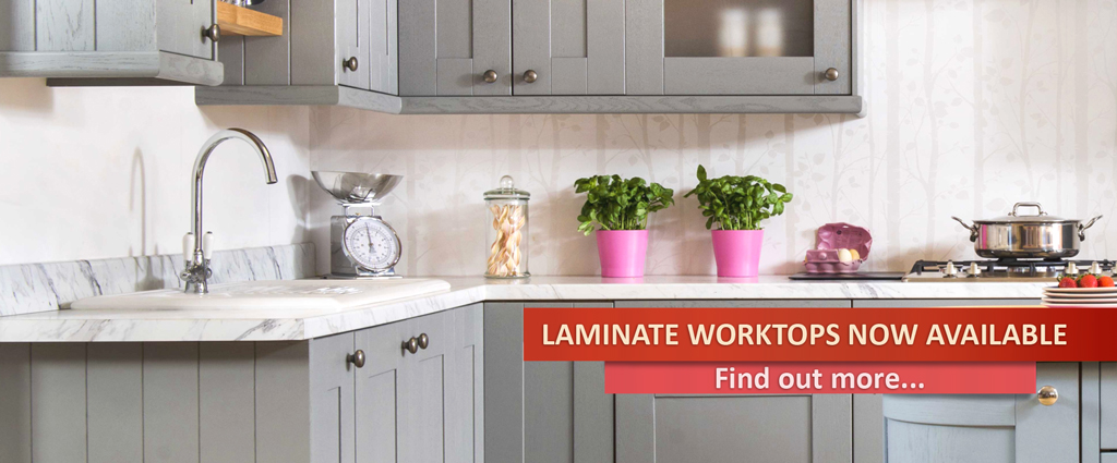 New range - laminate worktops