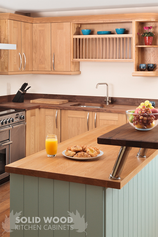 Light Timber Worktops Help To Reflect Much Needed Natural Light In Open  Plan Kitchen Designs