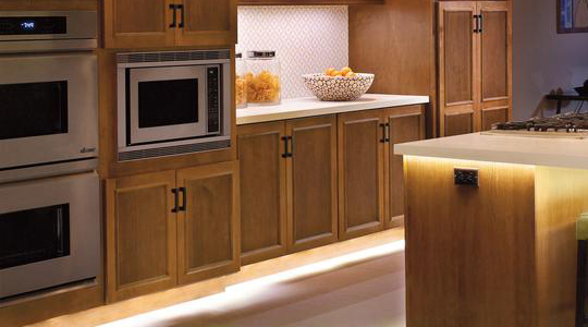 Kitchen design tips archives solid wood kitchen cabinets - Kitchen led lighting design guidelines ...