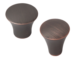 Malvern American Copper Kitchen Cabinet Knobs
