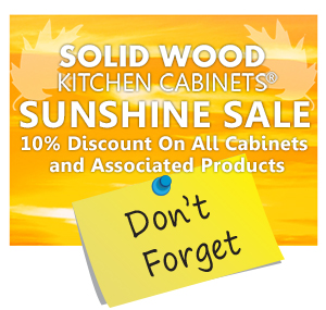 Save 10% on Solid Wood Kitchens with our Sunshine Sale – Ends Soon!
