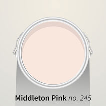 Farrow & Ball Middleton Pink swatch
