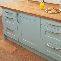 Our range of modern handles can be used for both cabinet doors and drawer frontals.