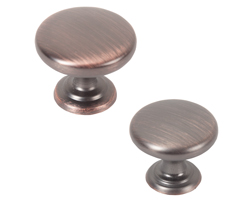 Monmouth American Copper Kitchen Cabinet Knobs