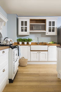 A new colour on your walls or cabinets can breathe new life into your kitchen