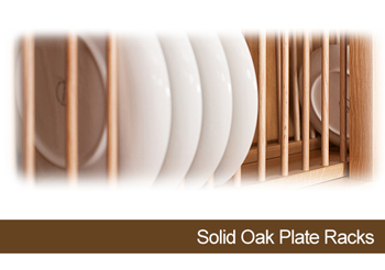 Accessorise Solid Oak Kitchens with Our New Plate Racks