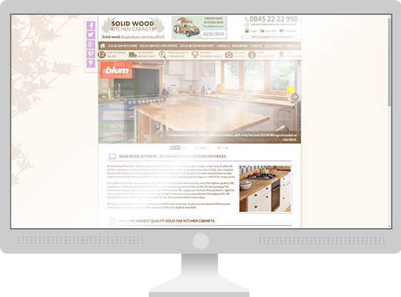 SWKC Responsive Design for Desktop