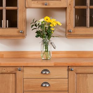 Oak worktop solid oak kitchens