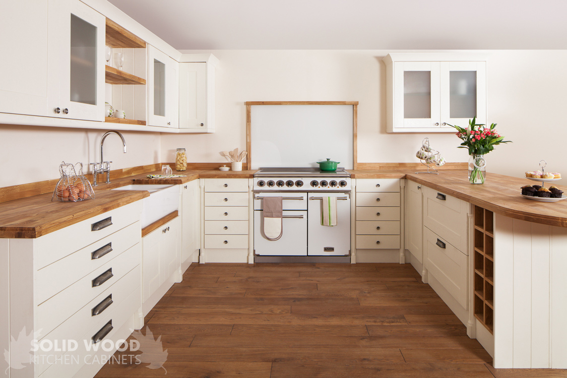Solid wood kitchen cabinets image gallery for White solid wood kitchen cabinets