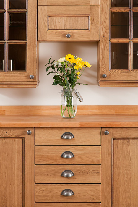 Our Traditional Style Solid Oak Cabinet Doors Are The Perfect Starting  Point For Creating A