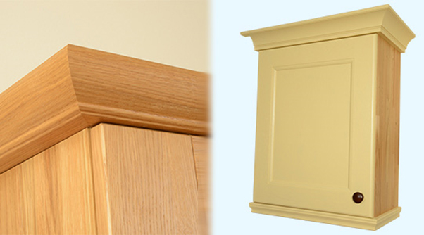 Accessorise Oak Kitchens With Cornices And Pelmets Solid