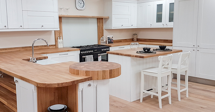 Smethwick oak kitchens showroom, Birmingham