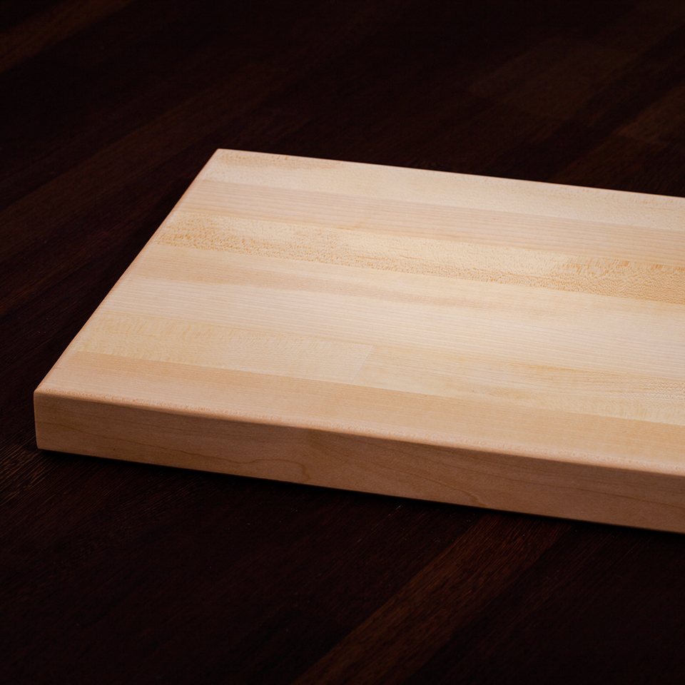 Maple Kitchen Worktops: Worktop Chopping Boards - Solid Wood Kitchen Cabinets