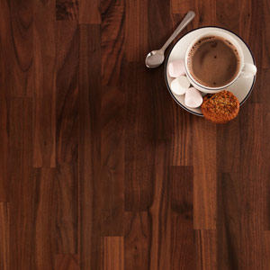 Black American Walnut Worktop 3000mm X 620mm X 27mm