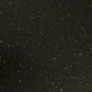 Black granite stone effect countertops