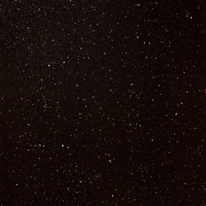 Black Sparkle Worktop Edging Strip - Andromeda - 1530 x 45mm