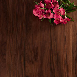 Full Stave Black American Walnut Worktop 2000mm X 960mm X 40mm