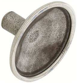 Lamont Knob - Pewter - 33mm