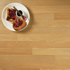 Oak effect laminate worktop