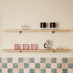 Oak Kitchen Shelf 1200mm x 200mm x 18mm