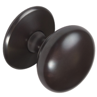 Mulberry Rubbed Bronze knob - 38mm