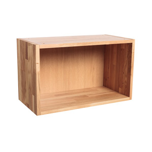 Solid Oak Wall Cabinet H360mm X W800mm X D300mm