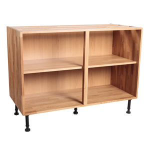 Solid Oak Base Cabinet H720mm X W1000mm X D570mm