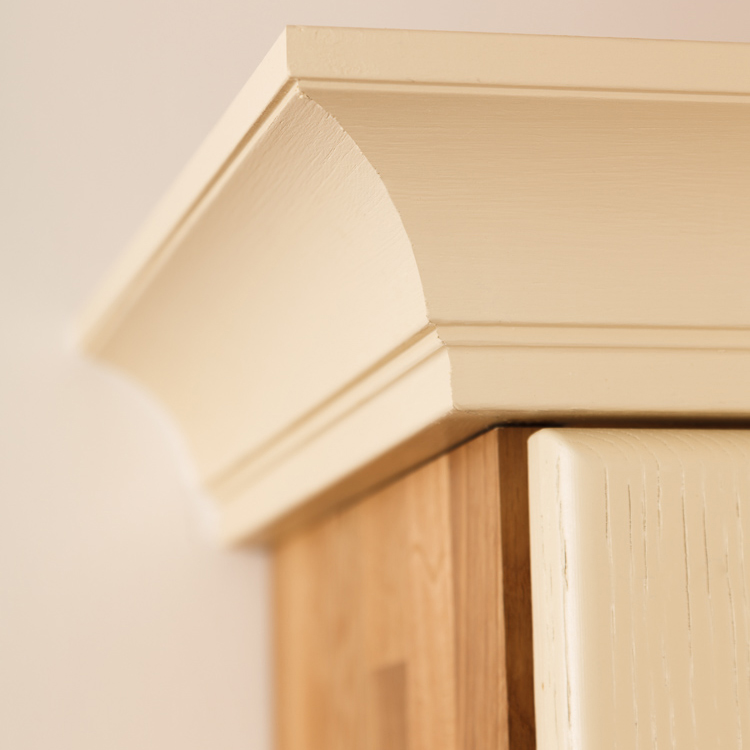 Solid Oak Cornices Amp Pelmets L Oak Kitchen Cornices