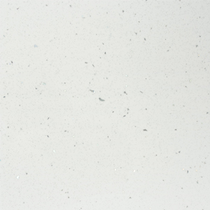 White Sparkle Worktop Edging Strip - Andromeda - 1530 x 45mm