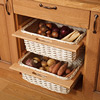 Wicker Storage Baskets (Pair) - H720mm X W500mm X D570mm
