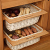 Wicker Storage Baskets (Pair) - H720mm X W600mm X D570mm