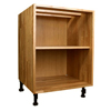 Solid Oak Base Cabinets