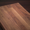Solid Black American Walnut Worktop Chopping Board
