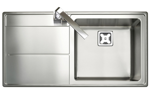 Rangemaster Arlington Sink - Single Bowl (LH Drainer)