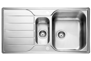 Rangemaster Michigan Sink - 1.5 Bowl (Reversible)