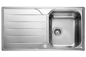 Rangemaster Michigan Sink - Single Bowl (Reversible)