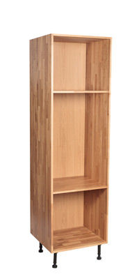 Solid Oak Full Height Cabinet Height 1965mm