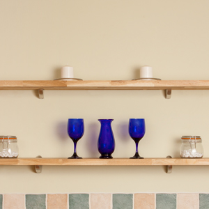 Wood Kitchen Shelves