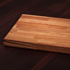 Solid Zebrano Worktop Chopping Board