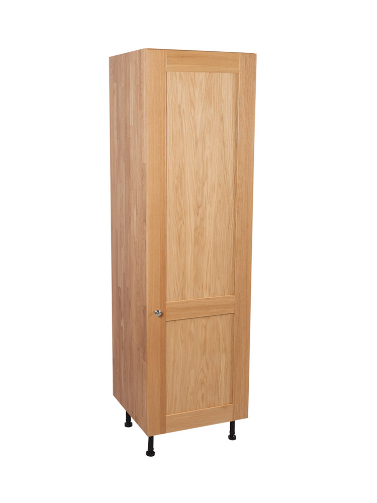 Solid oak kitchen full height cabinet h1965mm x w500mm x for Kitchen cabinets 500mm