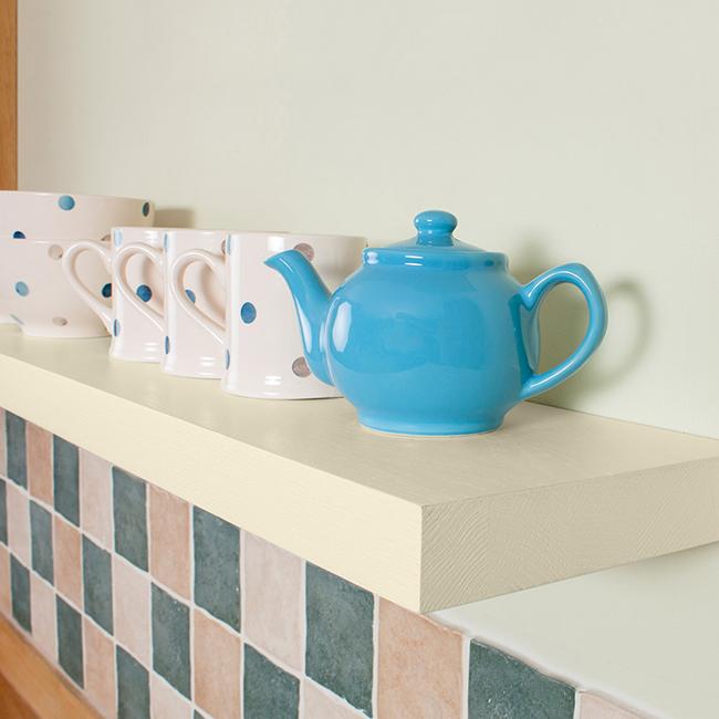 White Floating Shelves Kitchen: White Floating Shelves, White Shelves & Floating Solid