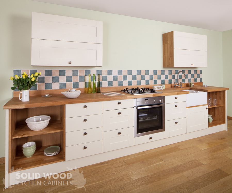 How to choose and install solid wood upstands and plinths for Kitchen units without plinths