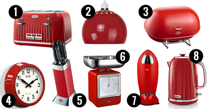 Retro kitchen accessories from a range of different eras