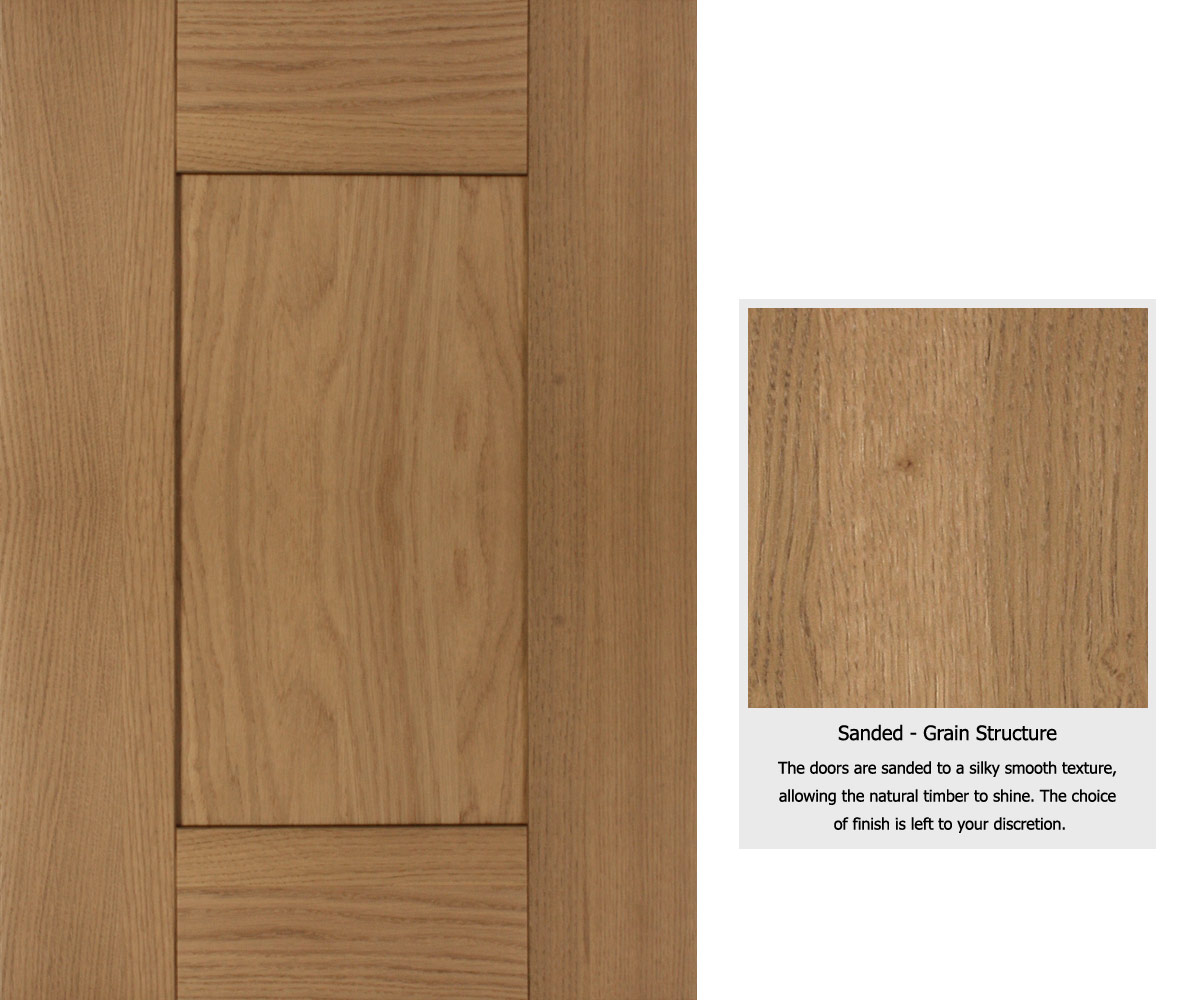 Natural Door Leaves The Option Of Finish To Your Own Preference