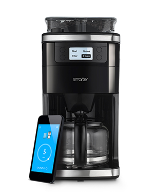 Top of our list of smart kitchen gadgets, this Smarter Coffee Machine is a stylish way to get  a few extra Zs in!