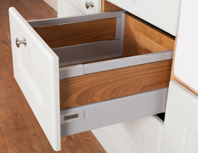 Solid Oak Door and Drawer Frontals - Tandembox Antaro - Oak Inserts