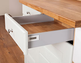 Solid Oak Door and Drawer Frontals - Tandembox Antaro - Single Drawer